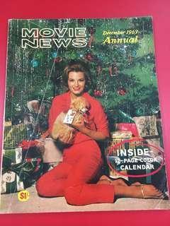 December 1963 Annual Movies Magazine with 1964 colour calendar inside