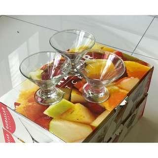 12 Pieces Dessert Glassware (Great bargain!)