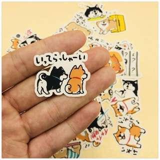 🚚 Shiba Inu Stickers Pack #single11