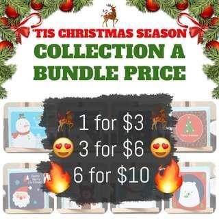 🚚 Christmas Cards #single11