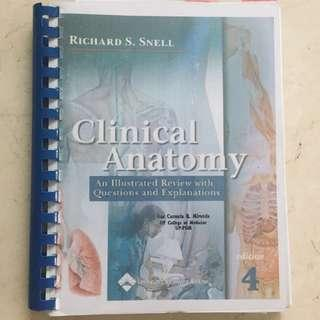 Clinical Anatomy Reviewer by Snell 4th Ed (Recopy)