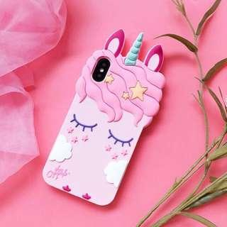 🚚 [po] 3D unicorn phone case