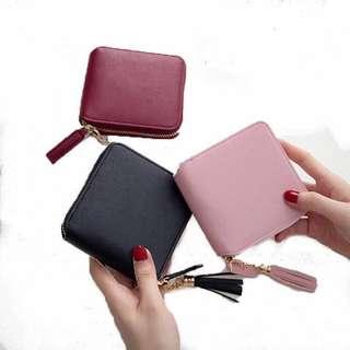 🚚 [po] korean tassel small wallet