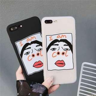 🚚 [po] cool face soft case (SELLING OUT SOON)