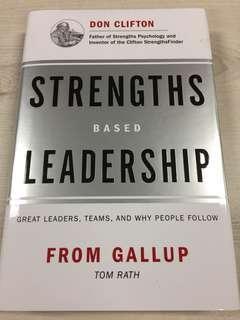 Strengths Based Leadership - Tom Rath (Brand New Hardbound)