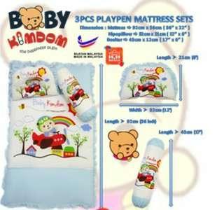 Baby mattress set