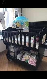 Baby bed (small size including mattress)