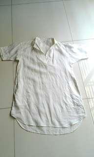 Uniqlo pure linen tunic