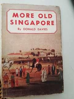 #HM3 - 1956 More Old Singapore book