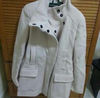 Authentic Winter Coat Zara Off White