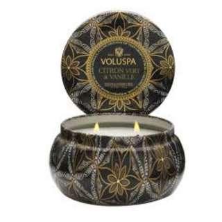 Voluspa scented candle香薰蠟燭 Citron Vert & Vanille 11OZ