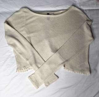 H&M Open Back Long Sleeves