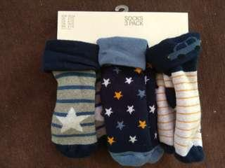 BN baby boy's socks