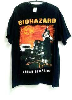 Biohazard band shirts