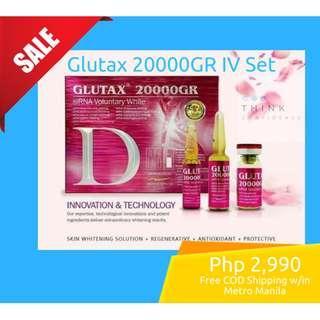 Glutax 20000GR IV Set (Free COD Delivery-Metro Manila)