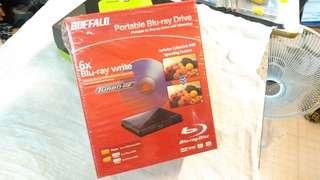BUFFALD Portable Blu-ray Drive