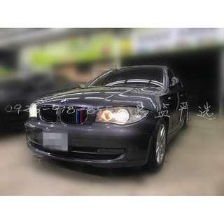 月付6800,開著進口小鋼砲 2007 BMW 120I