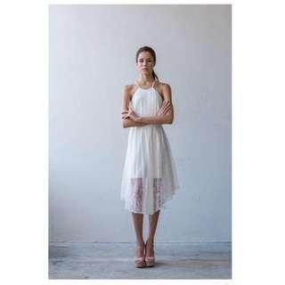 Amanda Lee Online Low Back Full Lace Dress