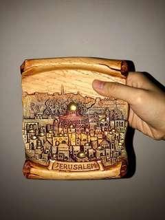 BNIB Hanging Clay Ornament from Jerusalem