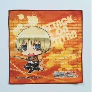 (Exclusive) Attack on Titan - Armin Arlert (Chimi ver.) - Mini Towel