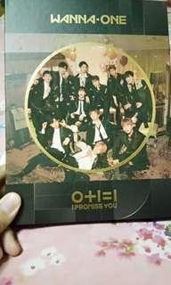 Wanna One (IPU - night version) preloved + official pc + freegift