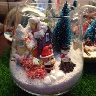 Christmas Terrarium decoration