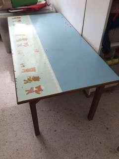 Children homework table suitable for 2 or more kids
