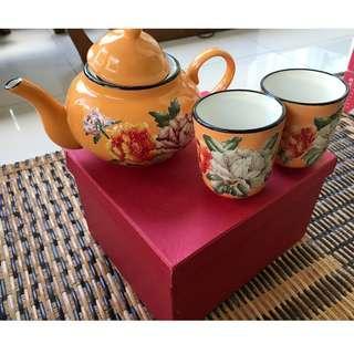 English Tea Pot Set