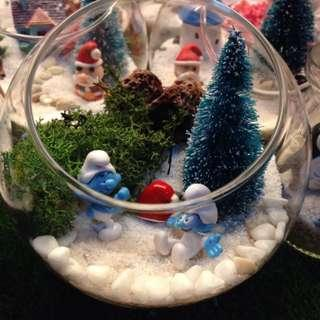 Christmas Gift Terrarium