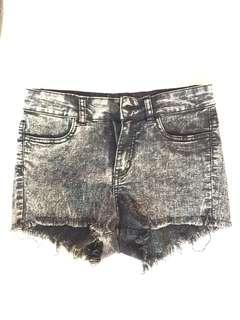 Black Shorts (washed style)