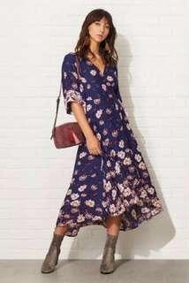 Sportsgirl Kimono Wrap Dress