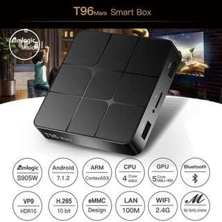 Smart Android TV Box Android 7.1 RK3229 Quad Core 4K 1GB/8GB HD Media Player TV