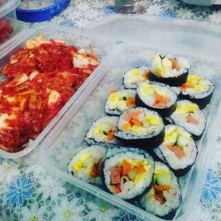 Cheese Kimbap