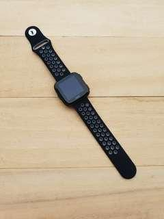 🚚 Fitbit Versa Sport Nylon Rubber Replacement Band Strap Velcro Loop