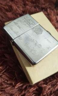 Korek Zippo Silver Plate Matco