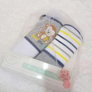 baby kiss hodded bath towel
