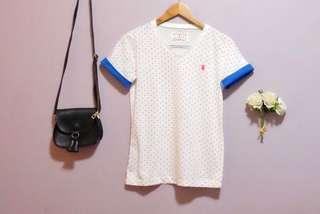 Preloved - Bearomon Heart Patterned Top
