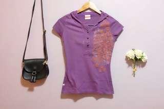 Preloved - Penshoppe Purple Hoodie Top