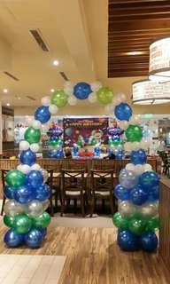 Balloon Entrance Arch