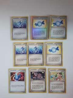 Pokemon old foil trainers cards 2000 era
