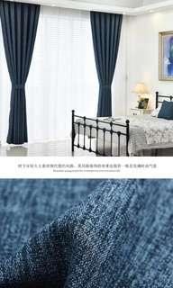 窗簾 (藏深藍色)