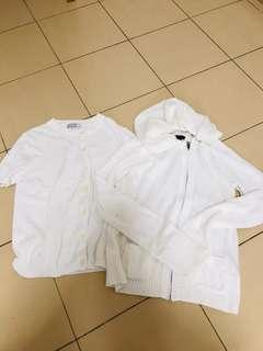 White outerwear set