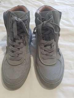 Grey hightops