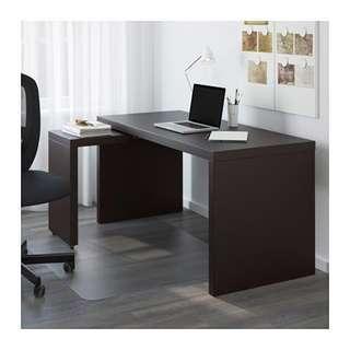 IKEA malm dark brown