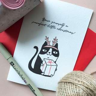 Purrfect christmas card early bird price!