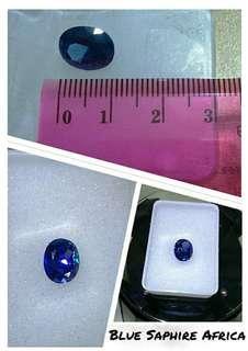 Batu Blue Sapphire High Quality Batu Mulia
