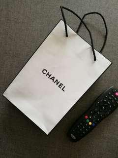 CHANEL Small Paperbag