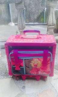 Barbie box type trolley bag