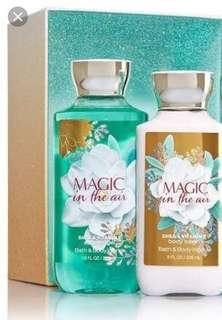 Magic in the Air Body Wash & Lotion Set