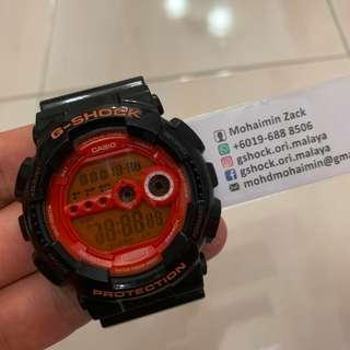 G-Shock GD100 Orange